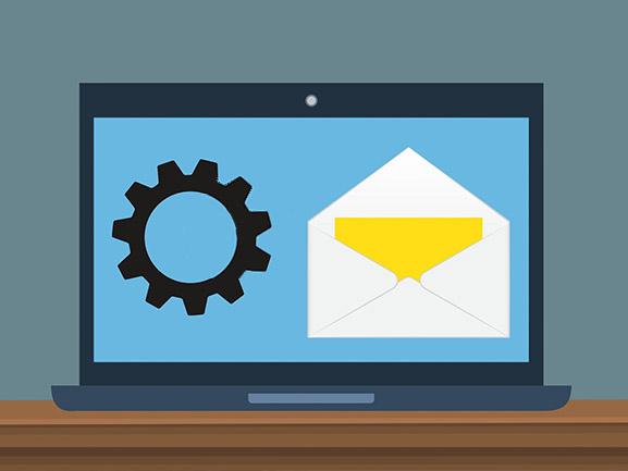 Umstellung der E-Mails
