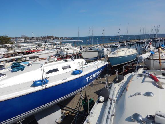 Bootsarbeiten und Abslippen 2021
